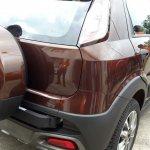 Fiat Avventura bronze spied rear