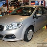 Fiat Linea facelift at the 2014 Nepal Auto Show