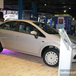 Fiat Linea facelift front three quarter at the 2014 Nepal Auto Show