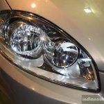 Fiat Linea facelift headlamp at the 2014 Nepal Auto Show