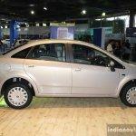 Fiat Linea facelift profile at the 2014 Nepal Auto Show