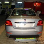 Fiat Linea facelift rear at the 2014 Nepal Auto Show