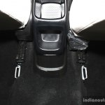 Fiat Linea facelift rear cubby hole at the 2014 Nepal Auto Show