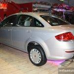 Fiat Linea facelift rear left three quarter at the 2014 Nepal Auto Show