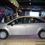 Fiat Linea facelift side at the 2014 Nepal Auto Show