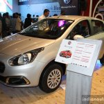 Fiat Punto Evo front left three quarter at the 2014 Nepal Auto Show