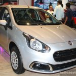 Fiat Punto Evo front right three quarter at the 2014 Nepal Auto Show