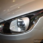 Fiat Punto Evo headlamp at the 2014 Nepal Auto Show