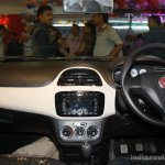 Fiat Punto Evo interior at the 2014 Nepal Auto Show