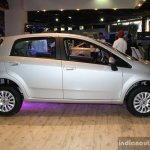 Fiat Punto Evo side at the 2014 Nepal Auto Show