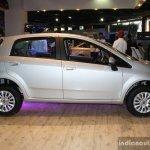 Fiat Punto Evo side at the 2014 Nepal Auto Show