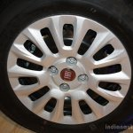 Fiat Punto Evo wheel at the 2014 Nepal Auto Show