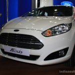 Ford Fiesta Facelift front at the 2014 NADA Auto Show Nepal