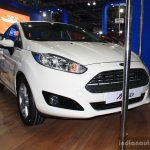 Ford Fiesta Facelift front three quarter at the 2014 NADA Auto Show Nepal