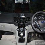 Ford Fiesta Facelift interior at the 2014 NADA Auto Show Nepal