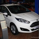 Ford Fiesta facelift front three quarter  at the 2014 Nepal Auto Show