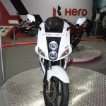 Hero Karizma ZMR front at the 2014 Nepal Auto Show