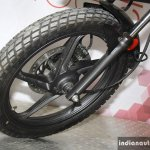 Hero Passion Pro TR off road tyre at the 2014 Nepal Auto Show