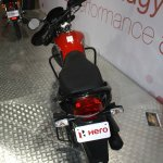 Hero Passion Pro TR rear at the 2014 Nepal Auto Show