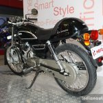 Hero Splendor Pro Classic rear left three quarter at the 2014 Nepal Motor Show