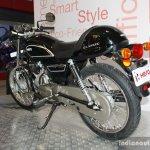 Hero Splendor Pro Classic rear left three quarter at the 2014 Nepal Motor Show