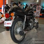 Hero Splendor Pro Classic rear three quarter at the 2014 Nepal Motor Show