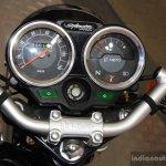 Hero Splendor Pro Classic speedometer at the 2014 Nepal Motor Show