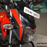 Hero Xtreme Sports headlamp at the 2014 Nepal Auto Show