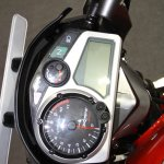 Hero Xtreme Sports instrument panel at the 2014 Nepal Auto Show