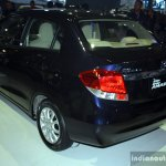 Honda Amaze rear left three quarter at the CAMPI 2014