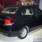 Honda Amaze rear three quarter at the CAMPI 2014