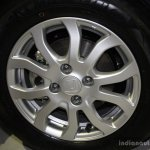 Honda Amaze wheel at the CAMPI 2014