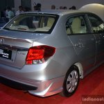 Honda Brio Amaze Modulo rear right three quarter at the CAMPI 2014