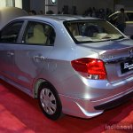 Honda Brio Amaze Modulo rear three qurater at the CAMPI 2014
