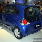 Honda Brio rear three quarter at the CAMPI 2014