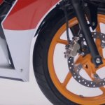 Honda CBR150R facelift front disc brake
