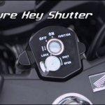 Honda CBR150R facelift keyhole