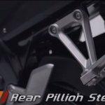 Honda CBR150R facelift rear footpeg