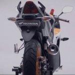 Honda CBR150R facelift rear