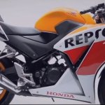 Honda CBR150R facelift side profile