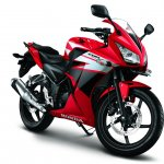 Honda CBR150R press image front view