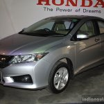 Honda City front three quarter at the 2014 Nepal Auto Show