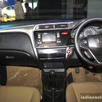 Honda City interior at the 2014 Nepal Auto Show