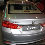 Honda City rear at the 2014 Nepal Auto Show