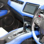 Honda HR-V Mugen prototype center console at the 2014 Indonesia International Motor Show