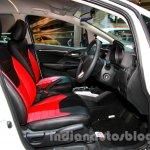 Honda Jazz Modulo front seats at the Indonesia International Motor Show 2014