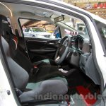 Honda Jazz Mugen front seats at the Indonesia International Motor Show 2014