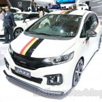 Honda Jazz Mugen front three quarters at the Indonesia International Motor Show 2014