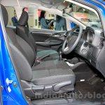 Honda Jazz front seats at the Indonesia International Motor Show 2014