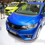 Honda Jazz front three quarters right at the Indonesia International Motor Show 2014
